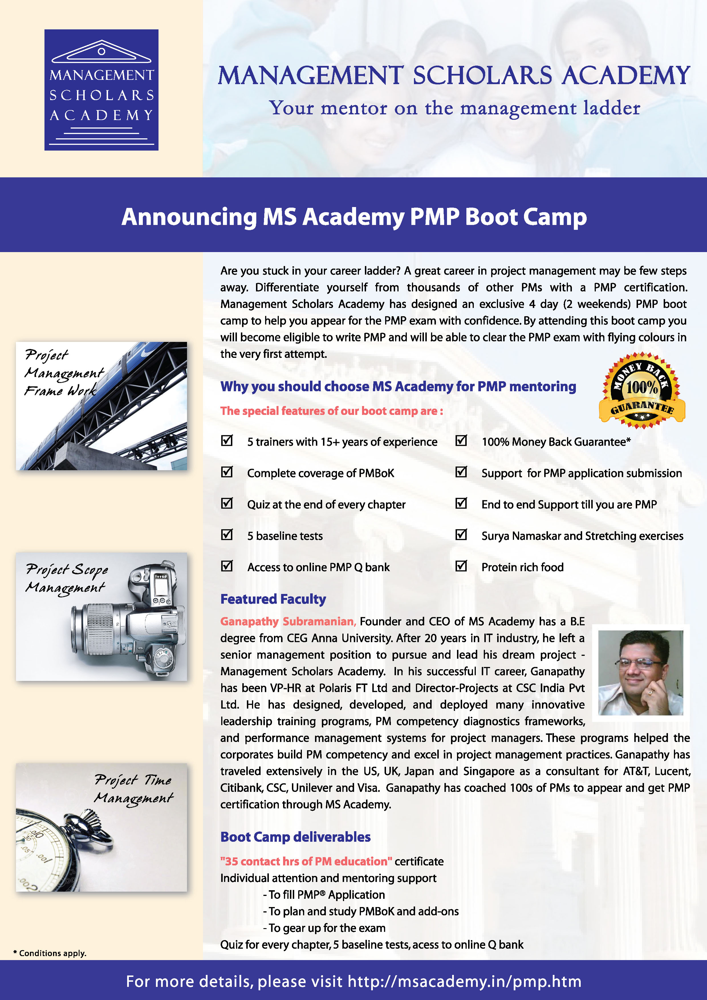 Management scholars academy pmp boot camp you can download the pmp brochures below using save link as 1betcityfo Gallery